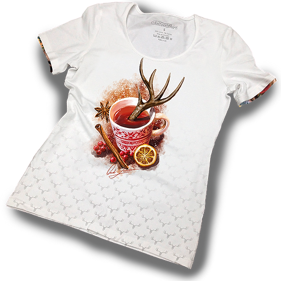 TATTOOSHIRT TEA CUP S/S LADIES