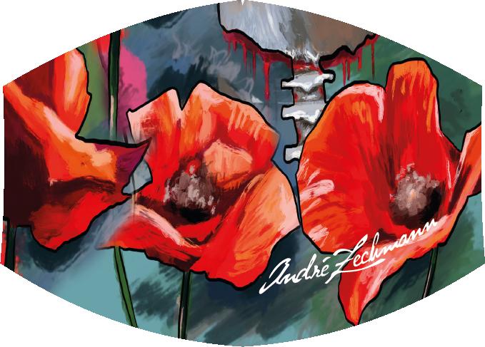 MASKE TATTOO FLOWERS