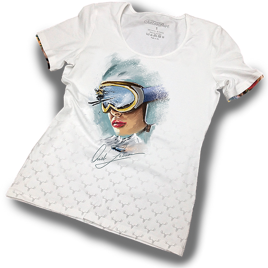 TATTOOSHIRT RETRO RACER S/S LADIES