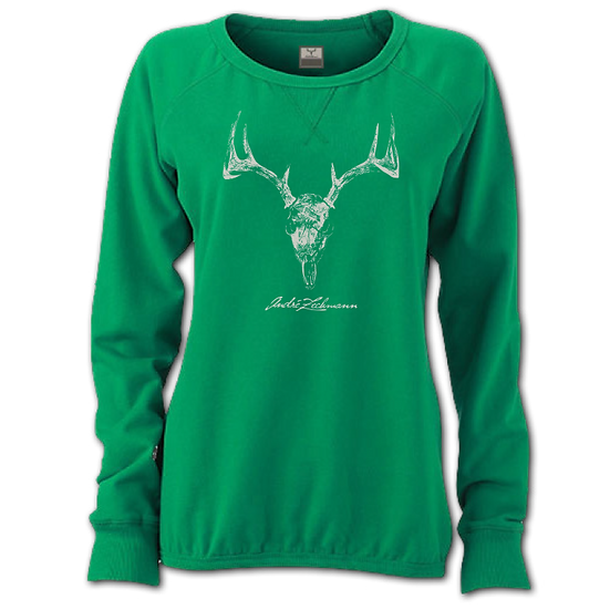 SWEATSHIRT DEER VINTAGE L/S LADIES