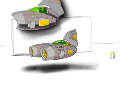 Twin-engined pod. Got fed up of working