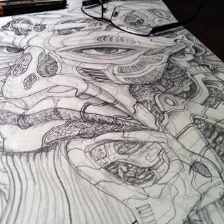 Pencil detailing