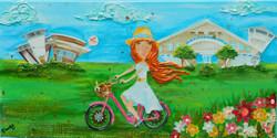 Biking Watersound  10X20  $225