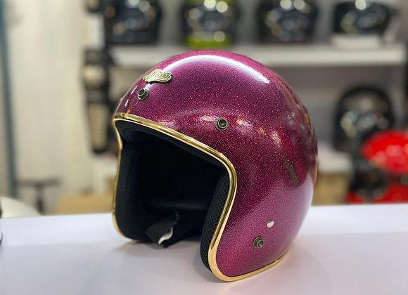 ALTRAX FLAKE Glitter Pink w/ Gold Trim