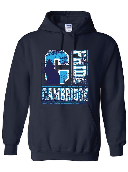 Cambridge Academy Spirit Pullover Hooded Sweatshirt Cambridge Pride