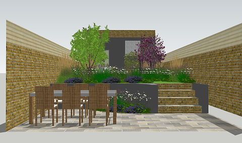 Morgan Street - V5 - View from Kitchen :