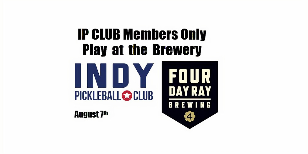 Indy Pickleball Club Only Play!