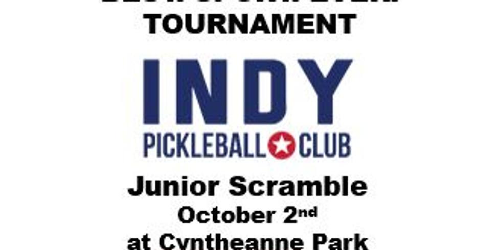 Junior Scramble - Indy Pickleball BEST. SPORT. EVER. Tournament!