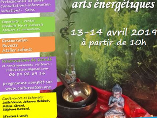 Salon bien-être, santé et arts énergétiques
