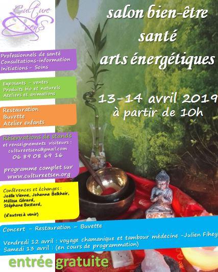Culture&senS, salon bien-être, santé et arts énergétiques