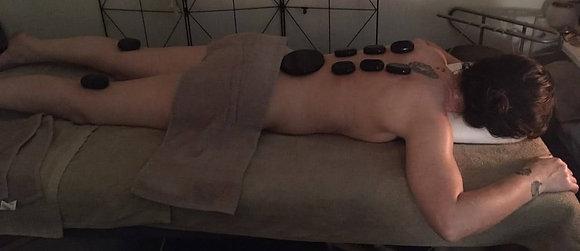 massage aux pierres chaudes (séance 60 minutes)
