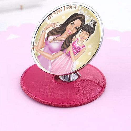 Diamond Bling Compact Mirror