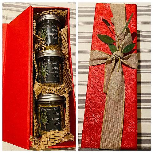 Triple Threat (Rubs Gift Box)