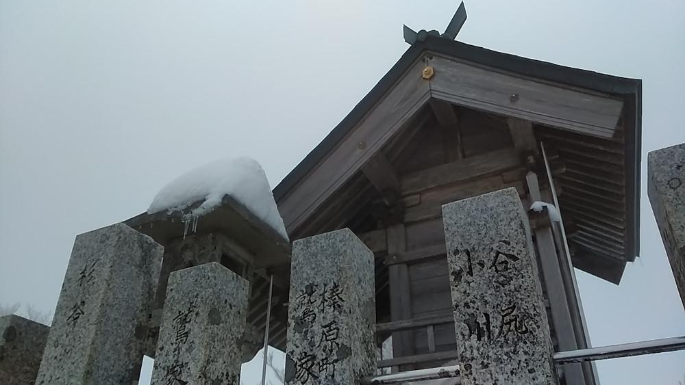 高見山の神社