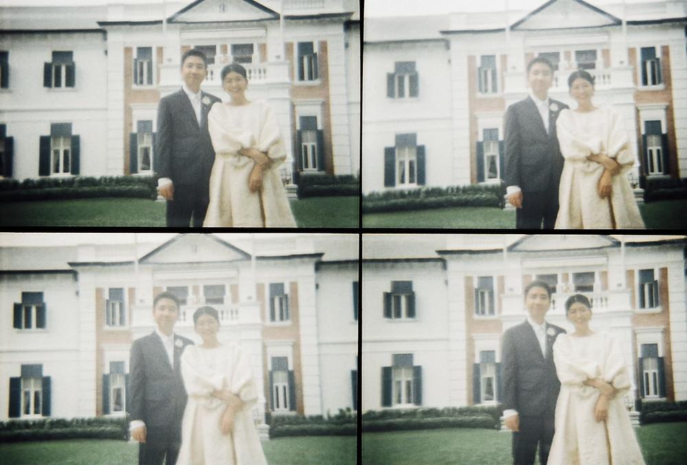 ウェディングドレスと結婚式