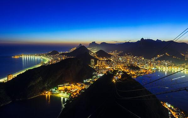 Rio de Janeiro la nuit