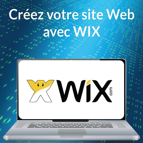 CREEZ VOTRE SITE WEB AVEC WIX