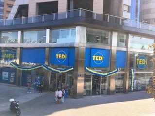 De inauguración con TEDI