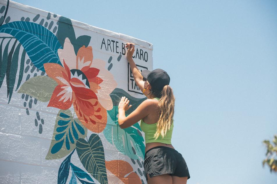 Mural - Dirty Dogs in Solana Beach