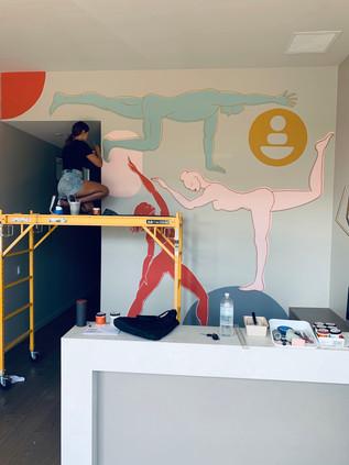 Mural - WellBody Co.  Solana Beach