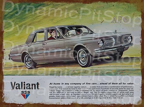 40x30cm Valiant AP6 Regal Sedan Rustic Decal or Tin Sign