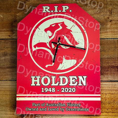 30cm x 40cm Holden Rustic Clock