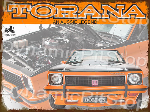 40x30cm Holden LX Torana Aussie Legend Rustic Decal or Tin Sign
