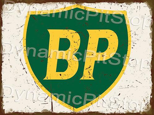 40x30cm BP Logo Rustic Decal or Tin Sign