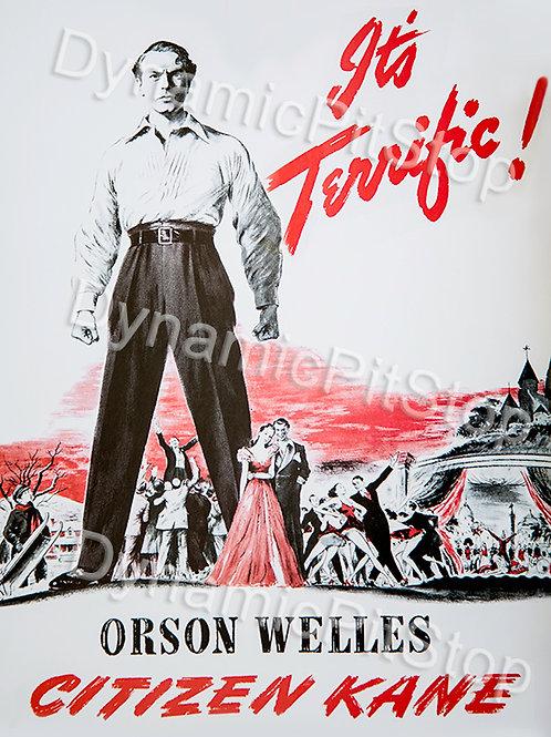 30x40cm Citizen Kane Its Terrific Decal or Tin Sign