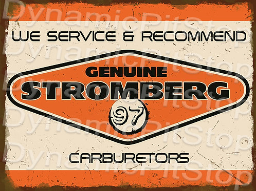 40x30cm Stromberg Rustic Decal or Tin Sign