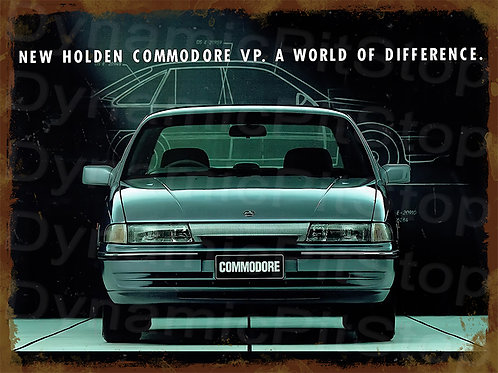 40x30cm Holden 1992 VP Commodore Rustic Decal or Tin Sign