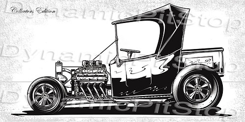 60x30cm Hot Rod Collectors Edition #6 Decal or Tin Sign