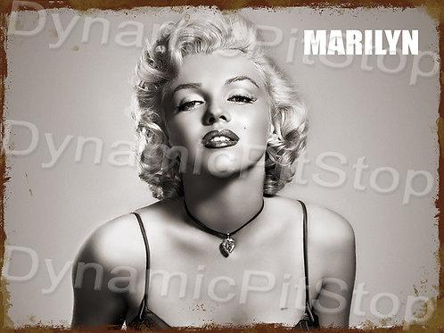 40x30cm Marilyn Monroe Rustic Decal or Tin Sign