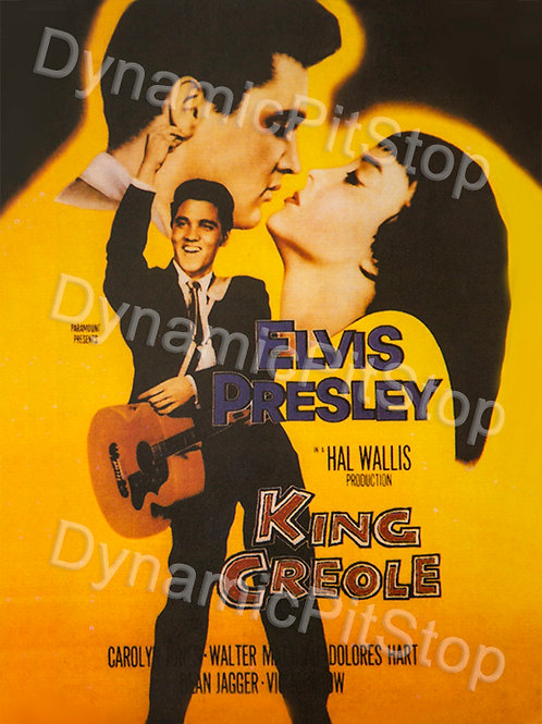 30x40cm Elvis King Creole Decal or Tin Sign