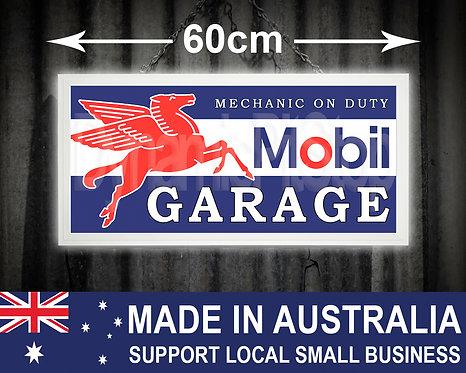 Illuminated Mobil Garage Sign