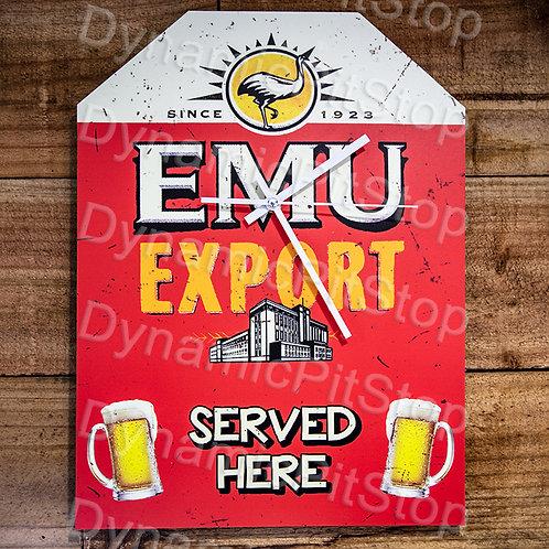 30cm x 40cm Emu Export Rustic Clock