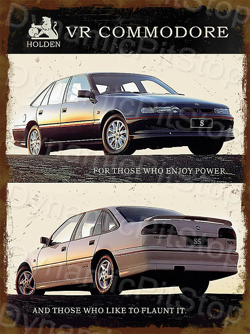 30x40cm Holden 1993 VR Commodore Rustic Decal or Tin Sign