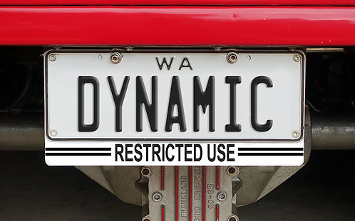 Integrated C4C Plate - Stripe Style