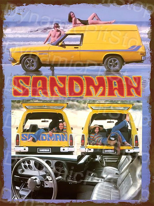 30x40cm Holden 1978 HZ Sandman Rustic Decal or Tin Sign
