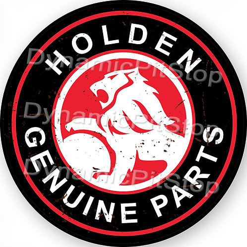 60cm Holden Round Tin Sign