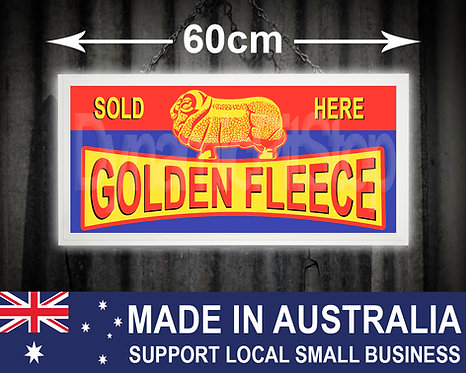 Illuminated Golden Fleece Sign