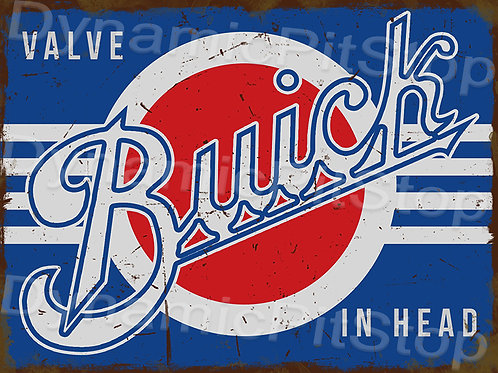 40x30cm Buick Logo Rustic Decal or Tin Sign
