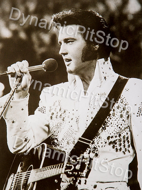 30x40cm Elvis Guitar Decal or Tin Sign