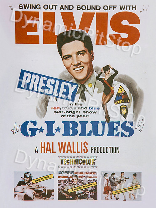30x40cm Elvis GI Blues Decal or Tin Sign