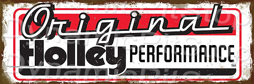 60x20cm Original Holley Performance Rustic Decal or Tin Sign