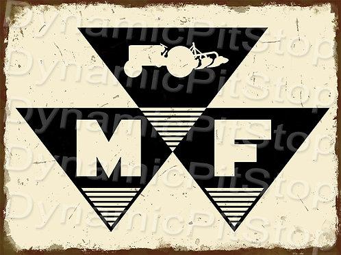 40x30cm Massey Ferguson Logo Rustic Decal or Tin Sign