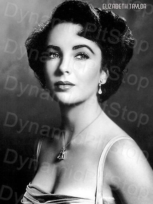 30x40cm Elizabeth Taylor Decal or Tin Sign
