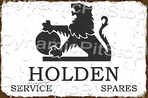 HUGE 120x80cm Holden Rustic Sign