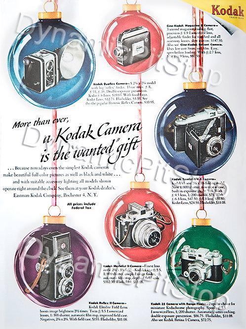 30x40cm Kodak Camera Decal or Tin Sign