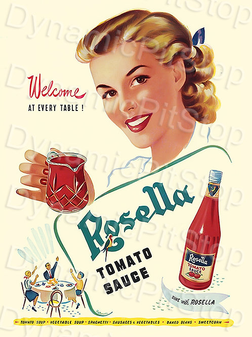 30x40cm Rosella Tomato Sauce Decal or Tin Sign